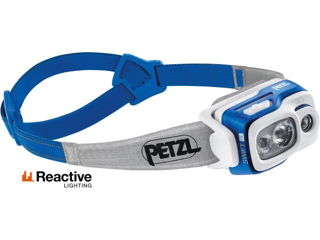 Petzl Swift RL Faretto, blu